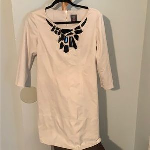 Vince Camuto white dress